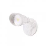 10W LED Single Head Security Light, 820 lm, 5000K, White