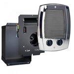 120/240V Com-Pak Bath Series Wall Heater Complete Unit, Chrome