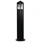 20W Pointed LED Bollard Pathway Light, 3000K, Black