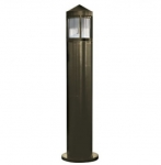 20W Pointed LED Bollard Pathway Light, 3000K, Bronze