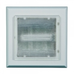 5W Square LED Surface Mount Ceiling Fixture, 3000K, White