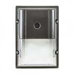 20W Cutoff LED Wall Pack, 5000K, Bronze