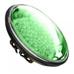 4W LED PAR36 Bulb, Green LED, G53 Base, 12V, 6400K, Verde Green