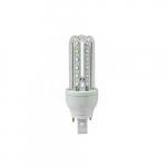 3.6W LED Corn Bulb, Revolvable T, G24, 4-Pin Base, 305 lm, 120V, 6500K