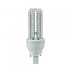 7W LED Corn Bulb, Bi-Pin Base, 650 lm, 6500K