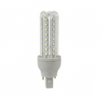9W LED Corn Bulb, Bi-Pin Base, 850 lm, 6500K
