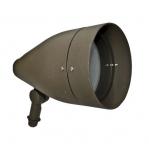 12W 10-in LED Directional Spot Light, RGBW, A23 Bulb, 6400K, Bronze