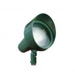 18W 10.5-in LED Directional Spot Light w/Hood, Flood, PAR38 Bulb, 2700K, Green