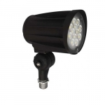 28W LED Flood Light, 3000 lm, 4000K, Black