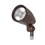 12W LED Spot Light, 814 lm, 5000K, Bronze