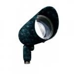 7W Hooded LED PAR 20 Spot Light, 3000K, Verde Green