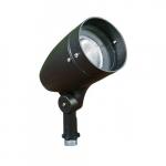 7W Lensed LED PAR 20 Spot Light, 6000K, Black