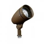 7W Lensed LED PAR 20 Spot Light, 6000K, Bronze