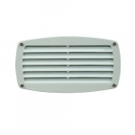 12W LED Recessed Louvered Step Light, 5000K, White