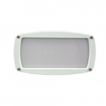 12W LED Recessed Open Face Step Light, 3000K, White