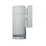 7W LED PAR20 Wall Sconce, 6000K, White