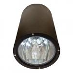 18W LED Ceiling Light, Flood, 6400K, Black