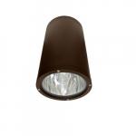 18W LED Ceiling Light, Flood, 6400K, Bronze