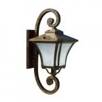 6W LED Decorative Wall Fixture, A19, 120V, Bronze