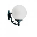 16W Emily Small Single Head Wall Fixture, Globe, Verde Green