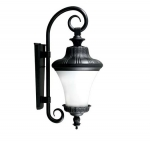 4W 3 Light Led Wall Mount Fixture w/Candelabra Base, Black