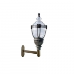 75W LED Wall Lantern w/ Clear Acorn Shade