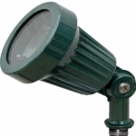 7W LED Directional Spot Light, MR16, Bi-Pin Base, Green