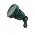 7W LED Directional Spot Light, MR16, Bi-Pin Base, 6500K, Green