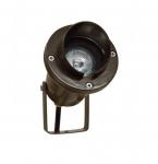 3W LED Directional Spot Light w/Hood, MR16, Bi-Pin Base, Bronze