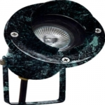 3W LED Directional Spot Light w/Hood, MR16, Bi-Pin Base, Verde Green