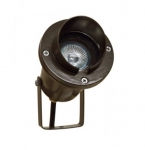 7W LED Directional Spot Light w/Hood, MR16, Bi-Pin Base, Bronze