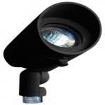 3W LED Directional Spot Light w/Hood, MR16, Black