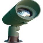 7W LED Directional Spot Light w/Hood, MR16, Green