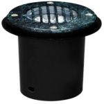 3W LED In-Ground Well Light w/Grill, MR16, Verde Green