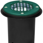 7W LED In-Ground Well Light w/Grill, MR16, Green