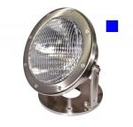16W LED Underwater Light w/Blue Bulb, PAR56