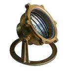 6W LED Underwater Light, Brass