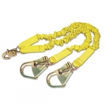 ShockWave 2 ,Shock Absorbing Lanyard, Steel Hooks, 900lb