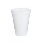 12oz Foam Cups, White