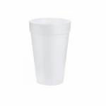 16oz Foam Cups, White