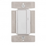 1000W Decora Dimmer w/ Preset, Single Pole/3-Way, White
