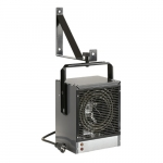 4000W Electric Space Heater, Fan-Forced, 13648 BTU/H, 240V, Grey
