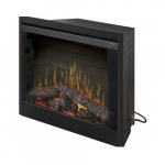 """39"""" Deluxe Electric Fireplace, Built-in, Purifire"""