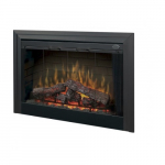 "45"" Purifire Deluxe Electric Fireplace, Built-in Fireplace"