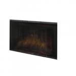 """39"""" Tamperproof Glass Door Kit For Built-In Electric Firebox"""