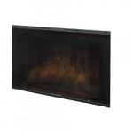 """45"""" Tamperproof Glass Door Kit For Built-In Electric Firebox"""