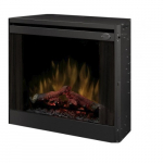 """33"""" LED Slim Line Electric Fireplace, Built-in"""