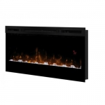 """34"""" LED Fireplace, Prism Series, Wall-mount"""