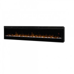 "74"" LED Electronic Fireplace, Prism Series, Wall-mount"