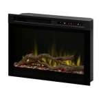 26-in 1500W LED Plug-in Electric Firebox, Driftwood